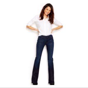 Dark Wash 'Bootcut' Jeans